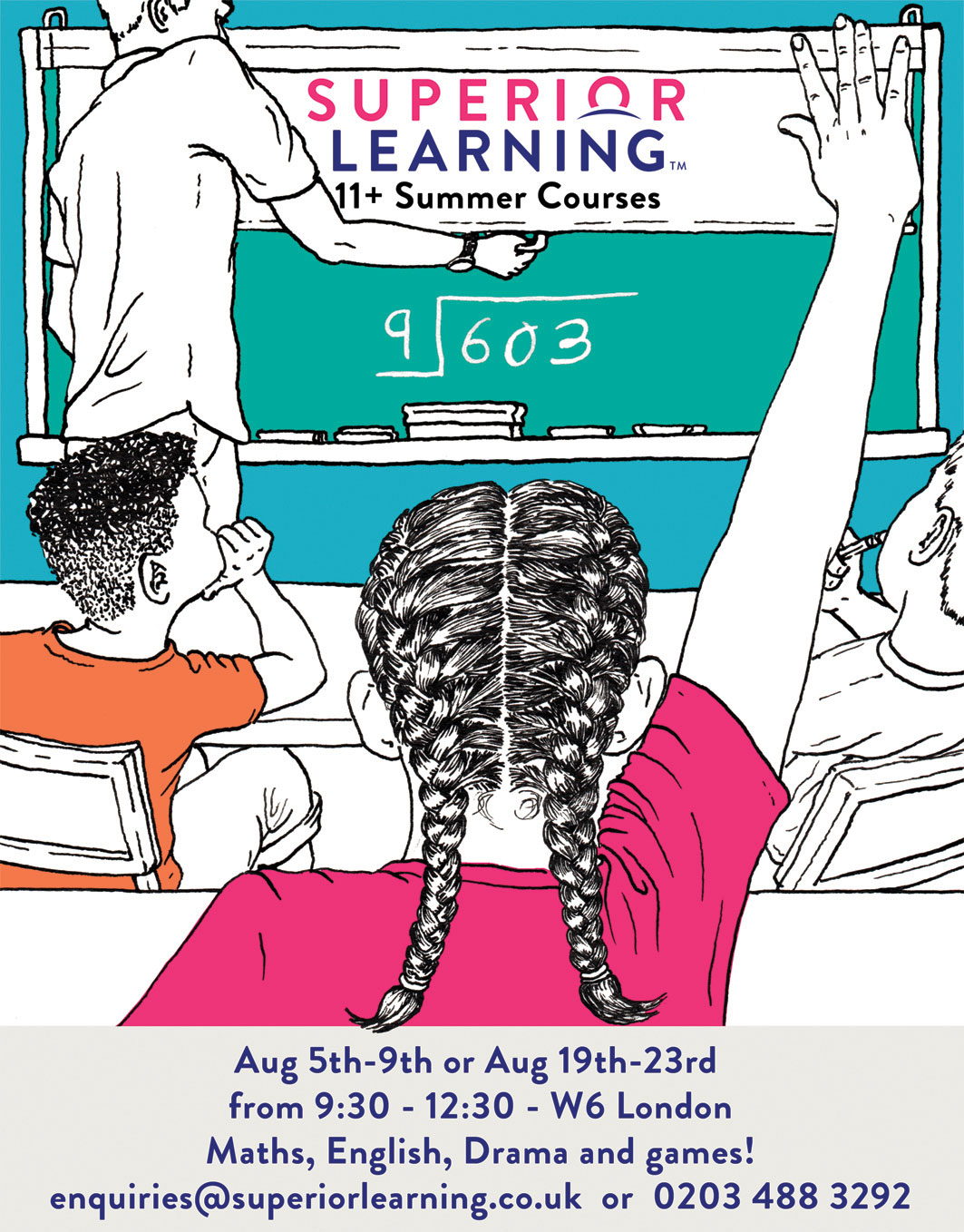 Superior Learning 11plus Summer Courses